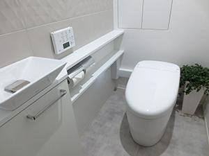 最新トイレにリフォームした一例